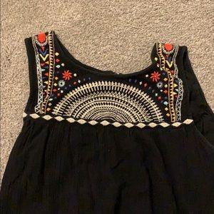 Black Ripcurl Tribal Dress